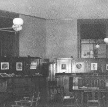 Image of First Library Reading Room