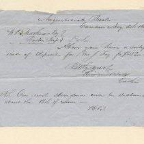 Image of Correspondence - WHC 2009.123
