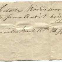 Image of Receipt - WHC 2009.181