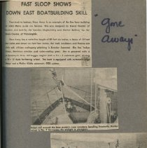 Image of Camden shipyard scrapbook by B. Dyer