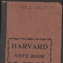 Image of Notebook - WHC 2009.30