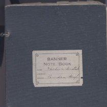 Image of Notebook - WHC 2009.30
