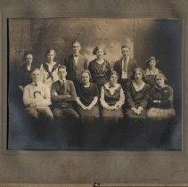 Image of Editorial staff of the Megunticook yearbook, Camden High school 1922