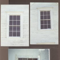 Image of Windows at lighthouse keeper's dwelling, Curtis Island