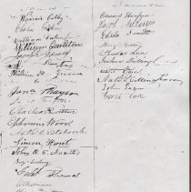 Image of Photocopy of pg3 of 1832 petition for lighthouse at Negro Island