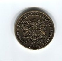 Image of Coin commemorating Camden's bicentennial celebration in 1969