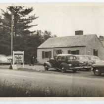 Image of Massachusetts House gift shop in 1954, Northport