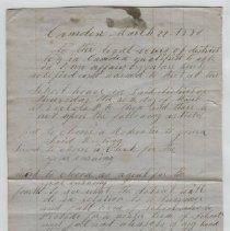 Image of Manuscript - WHC 2011.39