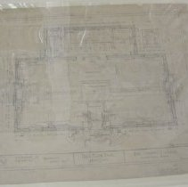 Image of Drawing, Architectural - CHRC 2006.2