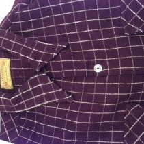 Image of Men's wool shirt made by the Brewster Shirt Factory in Camden