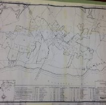 Image of Camden Hills Recreational Demonstration Area Land Acquisition Plan c. 1940