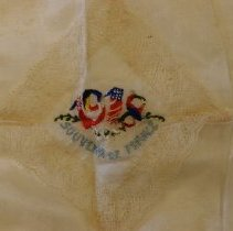 Image of WWI handkerchief detail