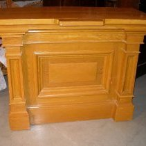Image of 1991.20.1 - pulpit