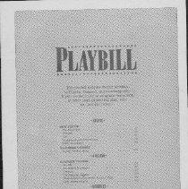 Image of Playbill