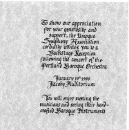 Image of Invitaation