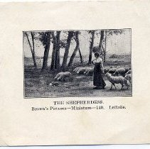 Image of 1999.31.97 Photo The Shepherdess