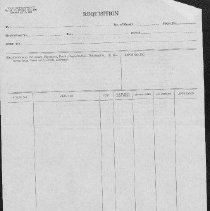 Image of Blank form