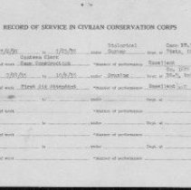 Image of Record of service