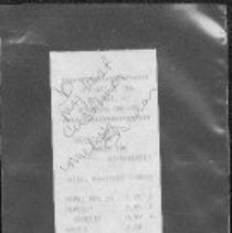 Image of Receipt