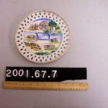 Image of 2001.67.7 - commemorative plate