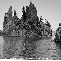 Image of Phantom Ship, Crater Lake