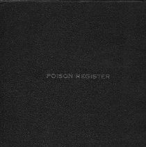 Image of Poison Register