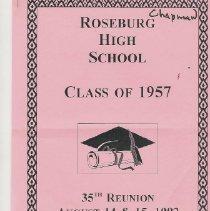 Image of Roseburg/ 1957 class 35th reun