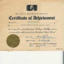 Image of Certificate/achievement
