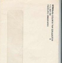 Image of Tax Collector envelope