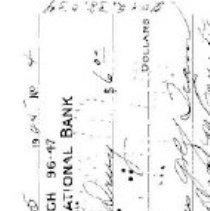 Image of check/ May 5, 1945