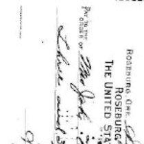 Image of check Sept. 13, 1945