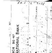 Image of check Oct. 11, 1945