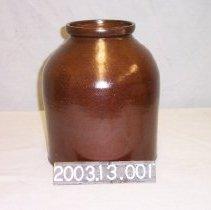 Image of 2003.13.001 - Crock, Pickle