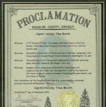 Image of County Proclamation