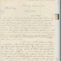 Image of original letter