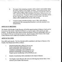 Image of Friends Bylaws page 3