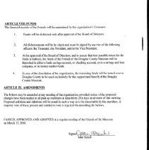 Image of Friends Bylaws page 4