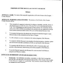 Image of Friends Bylaws 2001 page 2