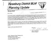 Image of Rsbg. Dist. BLM planning updat