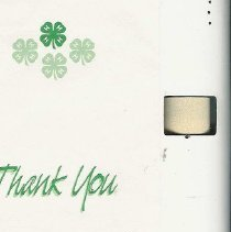 Image of Thank you note