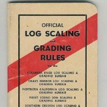 Image of Front Page of Log Scaling /Gra