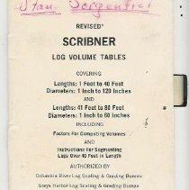 Image of Log Volume Tables