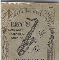 Image of Saxophone instruction book