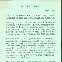 Image of Parking Permit