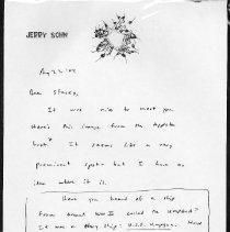 Image of Sohn Letter