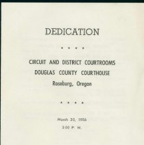 Image of Courthouse Dedication