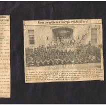 Image of back: newspaper clippings