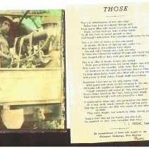 Image of Poem and photo