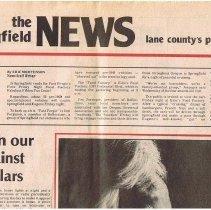 Image of Springfield newspaper