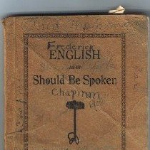 Image of English book